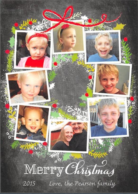 2015 Christmas Photo Card